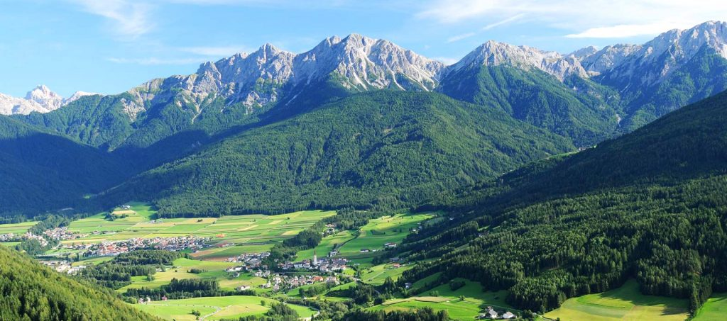 PARK KRONPLATZ-DOLOMITI vacanze nordic walking montagna